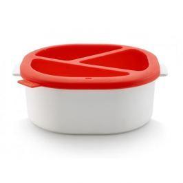 Zestaw do fondue z kuchenki mikrofalowej silikonowy LEKUE NATIVE BIAŁY Fondue i raclette