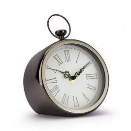 Zegarek stojący metalowy DUO RETRO CZARNY