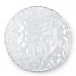 Talerz dekoracyjny szklany BORMIOLI ROCCO DIAMOND 33 cm