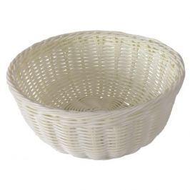 Koszyk na chleb i pieczywo AMBITION SANTE IVORY OKRĄGŁY 24 cm