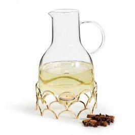 Dzbanek do grzanego wina szklany z podgrzewaczem SAGAFORM WINTER 1,3 l