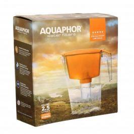Dzbanek do filtrowania wody plastikowy AQUAPHOR WATER FILTERS NIEBIESKI 2,5 l