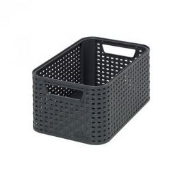Koszyk plastikowy CURVER STYLE S CIEMNY SZARY