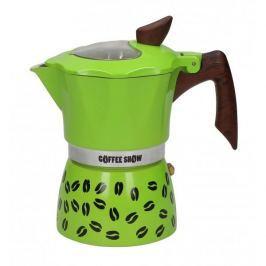 Kawiarka aluminiowa ciśnieniowa GAT SHOW GREEN - kafetiera na 3 filiżanki espresso
