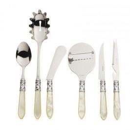 Nóż do steków ze stali nierdzewnej BUGATTI ALADDIN PERŁOWY