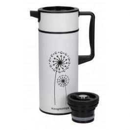 Termos konferencyjny do kawy i herbaty stalowy KONIGHOFFER VERSO WHITE 1,5 l