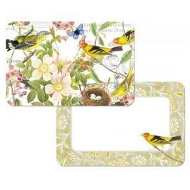 Mata stołowa / Podkładka na stół winylowa dwustronna CALA HOME BIRDS WIELOKOLOROWA 43 x 28,5 cm