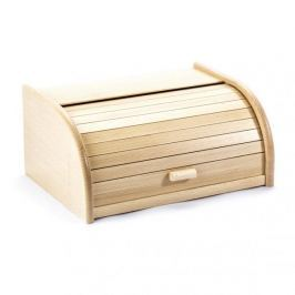 Chlebak drewniany ODELO DUŻY KREMOWY