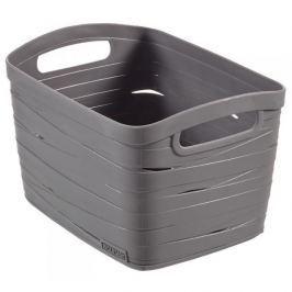 Koszyk plastikowy CURVER RIBBON L SZARY