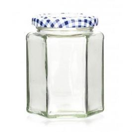 Mały słoiczek szklany KILNER GRID SZEŚCIOKĄT 0,3 l