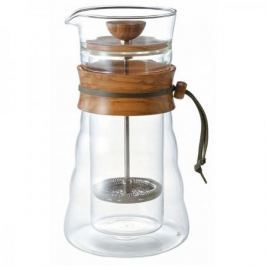 French press / Zaparzacz do kawy tłokowy szklany HARIO CAFE PRESS DOUBLE GLASS 0,6 l
