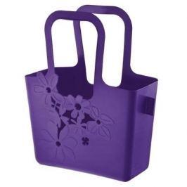 Torba na zakupy plastikowa KOZIOL ALICE FIOLETOWA