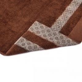 Ręcznik kąpielowy bawełniany MISS LUCY KUBA BRĄZOWY 70 x 140 cm