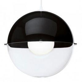 Lampa sufitowa plastikowa KOZIOL ORION CZARNA