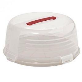 Pojemnik na ciasto i tort plastikowy CURVER BAKE BIAŁY 34,7 cm