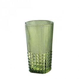 Szklanka do napojów szklana CILIO CRYSTAL LINE ZIELONA 400 ml