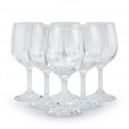Kieliszki do wina czerwonego szklane KROSNO CRYSTAL 250 ml 6 szt.