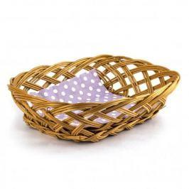 Koszyk na chleb i pieczywo wiklinowy DEKOR MINI 20 x 16 cm