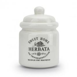Pojemnik ceramiczny SWEET HOME II HERBATA KREMOWY 0,85 l