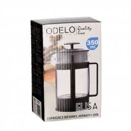 French press / Zaparzacz do kawy tłokowy szklany ODELO ELISA 0,8 l