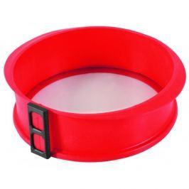 Tortownica okrągła ze szklanym dnem silikonowa MIX KOLORÓW  23 cm