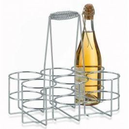 Chromowany stojak na butelki KELA LOOP