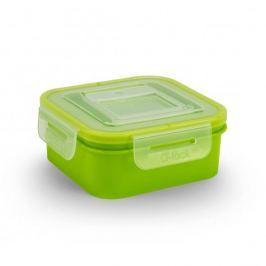 Pojemnik na żywność plastikowy BRANQ QLOCK ZIELONY 0,4 l