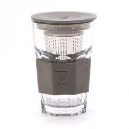 Kubek szklany / Szklanka z zaparzaczem PASA 415 ml