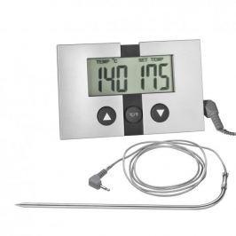 Termometr kuchenny do mięsa i steków cyfrowy z sondą stalowy KUCHENPROFI ELEF