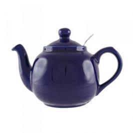 Dzbanek do herbaty ceramiczny z zaparzaczem LONDON POTTERY FARMHOUSE FIOLETOWY 1,4 l