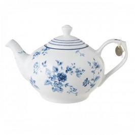 Dzbanek do herbaty i kawy porcelanowy LAURA ASHLEY CHINA ROSE BIAŁY 1,2 l