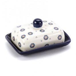 Maselniczka ceramiczna FOLKLOR KÓŁKA KREMOWA