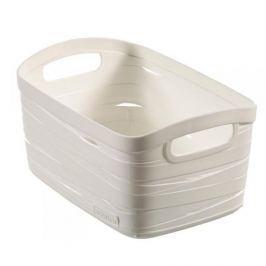 Koszyk plastikowy CURVER RIBBON XS KREMOWY