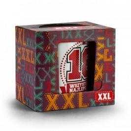 Kubek ceramiczny na urodziny z nadrukiem BOSS XXL 18-STKA BIAŁY 750 ml