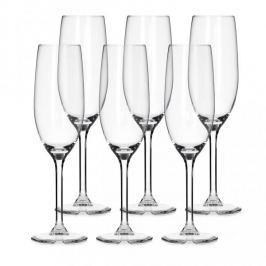 Kieliszki do szampana ROYAL LEERDAM BRYLANT 210 ml 6 szt.