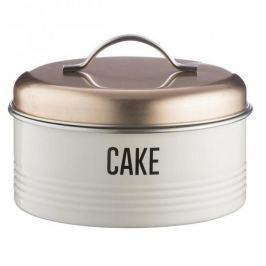 Puszka / Pojemnik na ciastka i pierniki ze stali nierdzewnej VINTAGE COOPER BIAŁY 3,8 l
