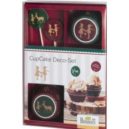 Ozdoby do muffinek i babeczek BIRKMANN CHRISTMAS 36 el.