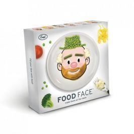 Talerz obiadowy płytki ceramiczny INVOTIS FOOD FACE BOY 21 cm