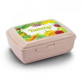 Śniadaniówka / Pojemnik na kanapki plastikowy BRANQ YUMMY RÓŻOWA