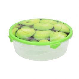 Pojemnik plastikowy na żywność OWOCE MIX WZORÓW 0,5 l