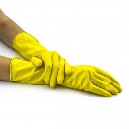Rękawiczki gumowe PRAKTYCZNE ŻÓŁTE S