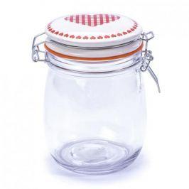 Słoik z pokrywką na ciastka szklany LOVE 0,75 l