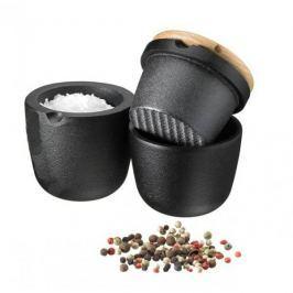 Młynek do przypraw żeliwny ręczny SKEPPSHULT WALNUT CZARNY 8 cm