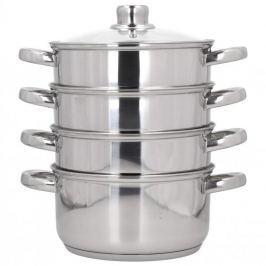 Garnek do gotowania na parze stalowy z pokrywką KONIGHOFFER SENSO 4,2 l (5 el.)