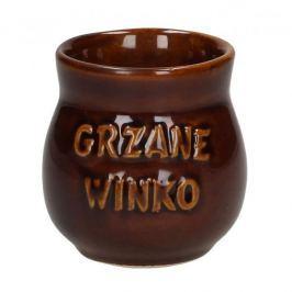Kubek kamionkowy z uchem do grzanego wina KRYSTYNKA GRZANE 250 ml