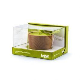 Cukiernica drewniana PRACTIC BĄBLE ZIELONA 250 ml