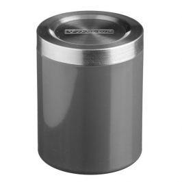 Pojemnik na żywność ze stali nierdzewnej HUDSON GRAFITOWY 0,75 l