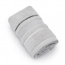 Ręcznik łazienkowy do rąk bawełniany MISS LUCY GOTLANDIA SZARY 30 x 50 cm