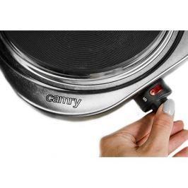 Kuchenka elektryczna metalowa CAMRY SOLO SZARA 1500 W