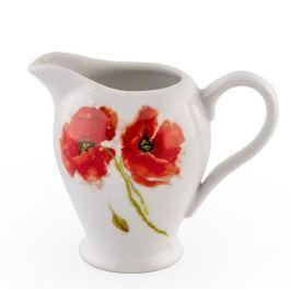 Serwis kawowy porcelanowy CERAMIKA TUŁOWICE KWADRAT MAKI BIAŁY na 12 osób (27 el.)